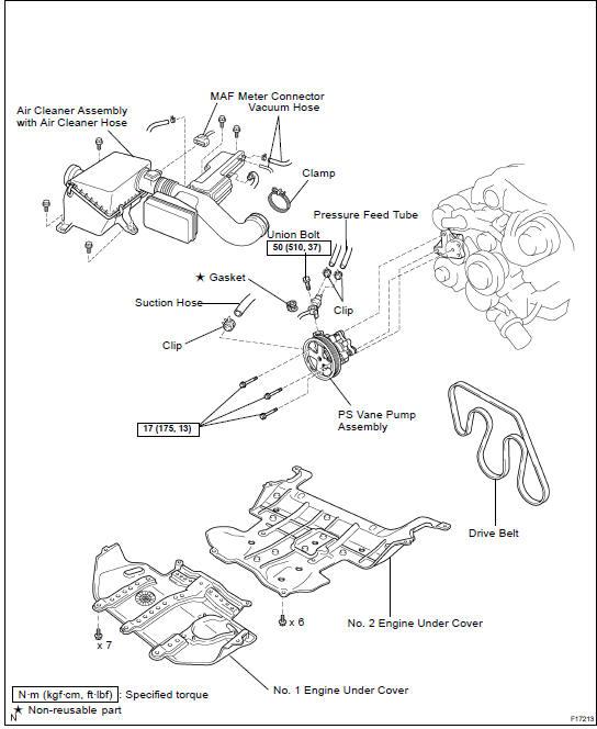 Toyota Land Cruiser Power Steering Vane Pump